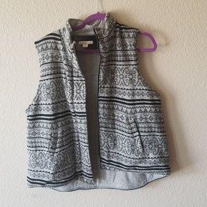 COLDWATER CREEK knit vest